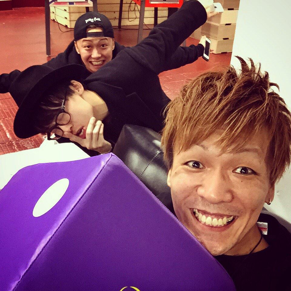 Da-iCE FC EVENT a-i contact Vol.2  横浜・大阪 全4公演☆ これにて終了! 本当に感謝でしっ(≧∇≦) MCはKYOHEYでした!  #da_ice #a_i #aicontact #kyohey http://t.co/oj0uDClfqU