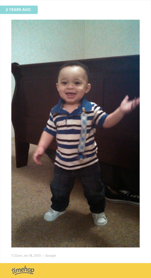 This was Dayton's first day of preschool.  http://t.co/kw5QPybzNC http://t.co/6P1ecpTFwK