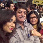 RT @Shreyanjeet_SN: @bollywoodbegam: At #MMawards marathi in pune with @shreyaghoshal n her dad loving it what a humble n intelligent man h…