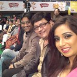 RT @bollywoodbegam: At #MMawards marathi in pune with @atulcomposer ajay sachi ji @shreyaghoshal what a show http://t.co/6xEiIoReEV