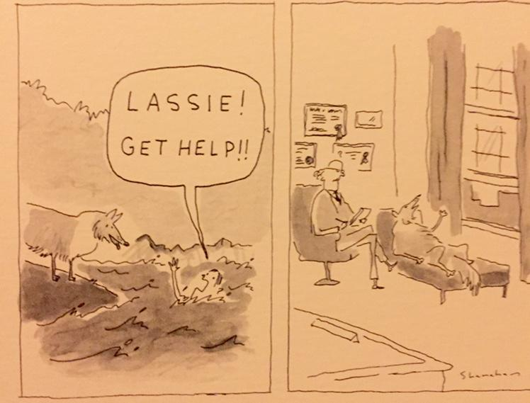 My favourite New Yorker cartoon ever. http://t.co/5l10KC45oS