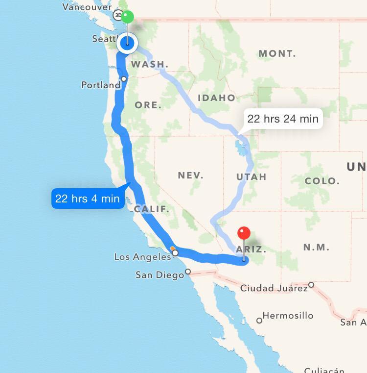 So...it looks like we have options. #RoadTrip @Seahawks @Mariners @SoundersFC