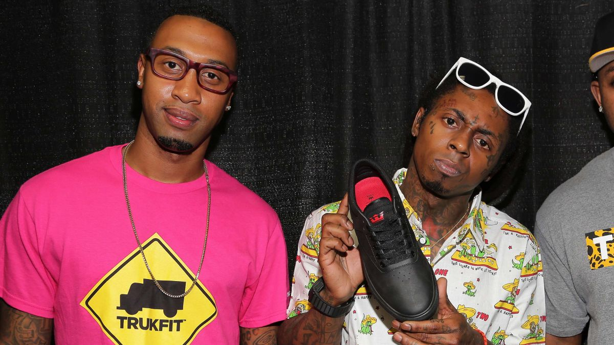 In the Young Money label drama, Wiz Khalifa's manager had a lot to say when taking his side: