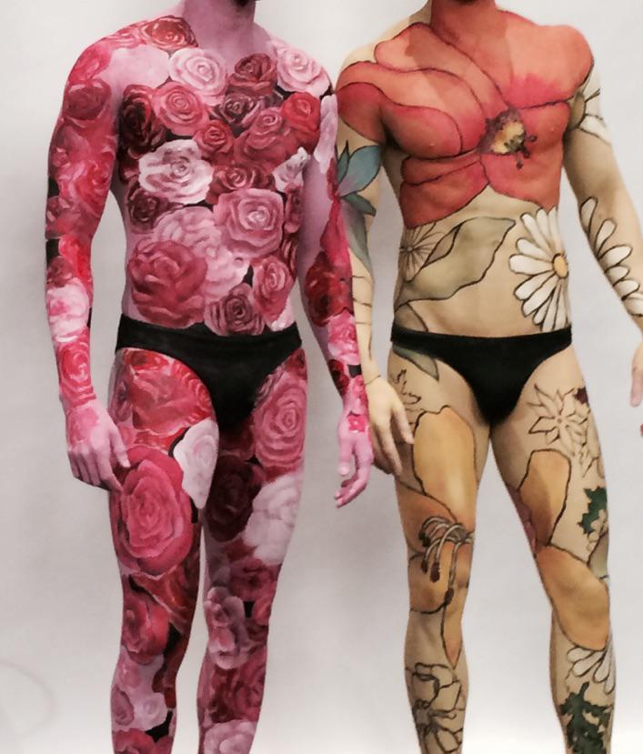 Yesterday's bodypaintings for IMATS!!! Love my team!! Follow @MAC_Ashley_R @MAC_Regan_R and @MAC_Caroline_D http://t.co/AoxVEcpX1z