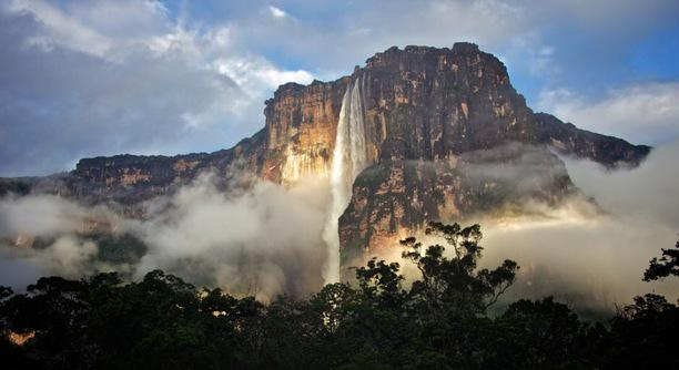Angel Falls, Venezuela Salto Del Angel, better known to English speakers as... @ Angel Falls