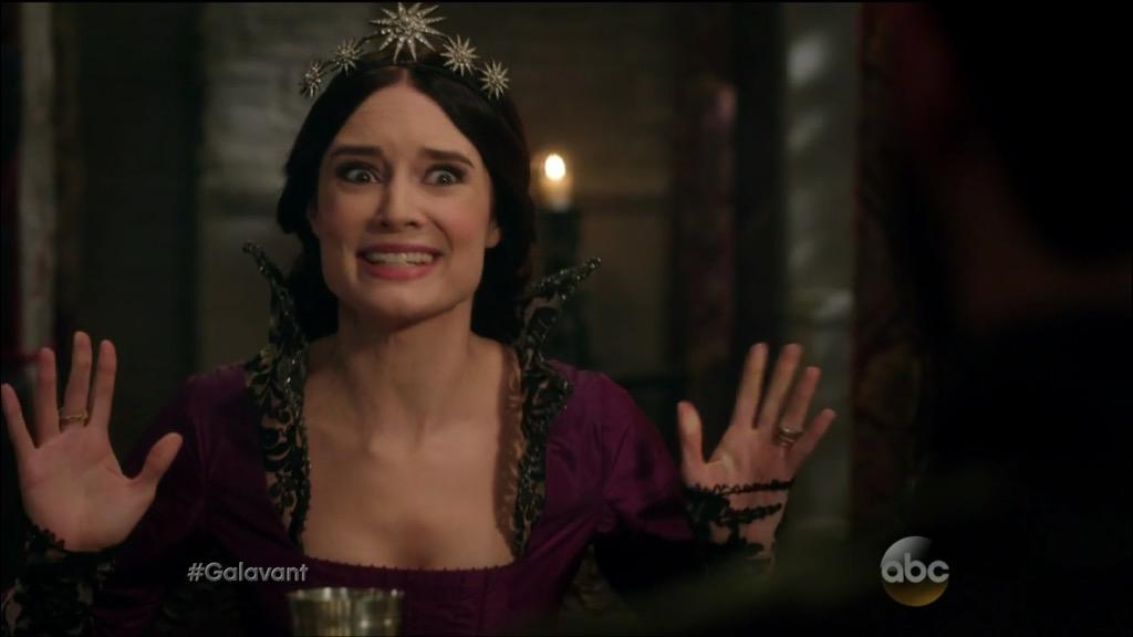 I live in a castle. Why would I give all this up to get fat,pregnant and grow my own food? #Galavant @MalloryJansen http://t.co/xGgIRZBHTP
