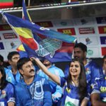 @kriti_official cheers for #Karnataka Bulldozers at @ccl match http://t.co/1Y6075Zd0Y