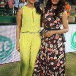 @TheParulYadav @rakshitshetty #Aishani Shetty promote @VaastuPrakara @ccl match http://t.co/7UsnDOoIG1