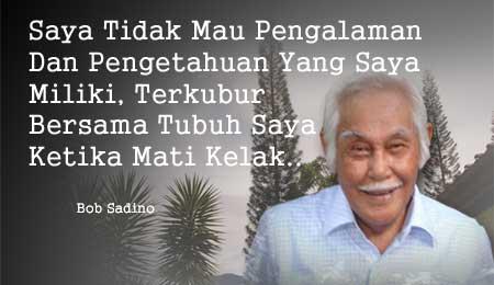 Great quote from Bob Sadino. #RIPBobSadino http://t.co/8v2TYeEW2b http://t.co/vCoNWYeMea