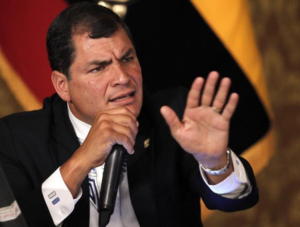 Presidente de Ecuador rechaza y denuncia Guerra Económica en Venezuela (+Tuits)http://t.co/NrUPrOYGV5 http://t.co/GWyiTAAtRp