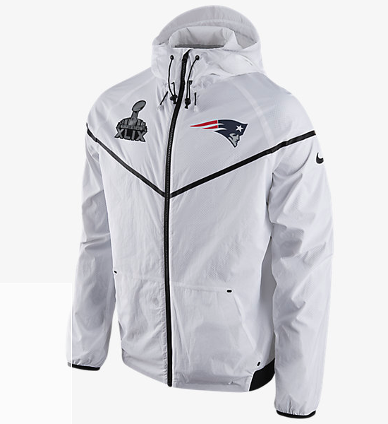 Assuming Nike is going to try to get Belichick to wear this new windbreaker  hoodie.