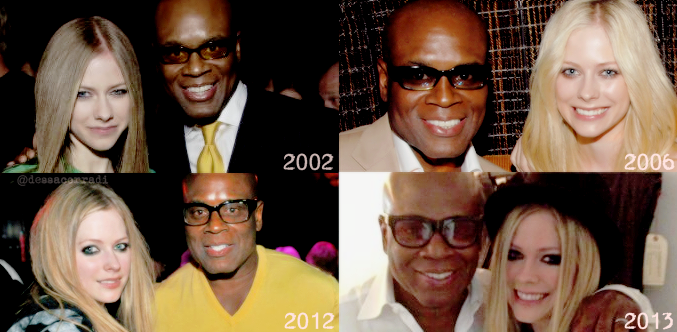 Happy bday to the man who believed in @AvrilLavigne when she was only 15years old!! @LA_Reid