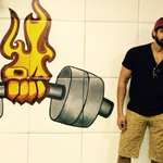 He's the one who got me from fat to fit now he's going all STEEL.@KunalGir http://t.co/913tH61Zym