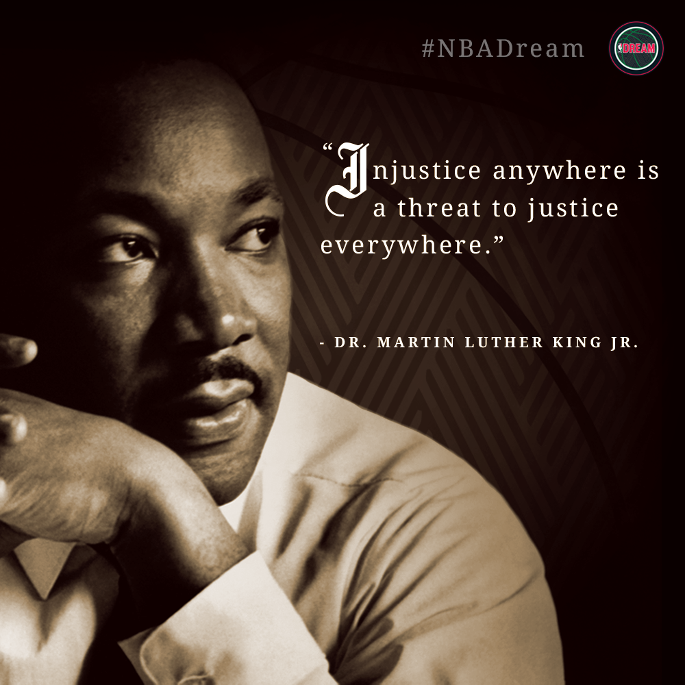 """injustice anywhere is a threat to justice everywhere """"injustice anywhere is a threat to justice everywhere"""" – dr martin luther king jr  ← """"the time is always right to do what is right"""" – dr martin luther king jr."""