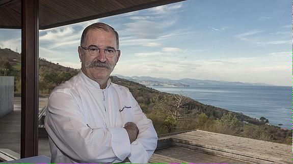 Hay q felicitar a un cocinero y a un hombre excepcional, hoy se le concede a Pedro Subijana el Tambor de oro de SS http://t.co/0PelvuEpft