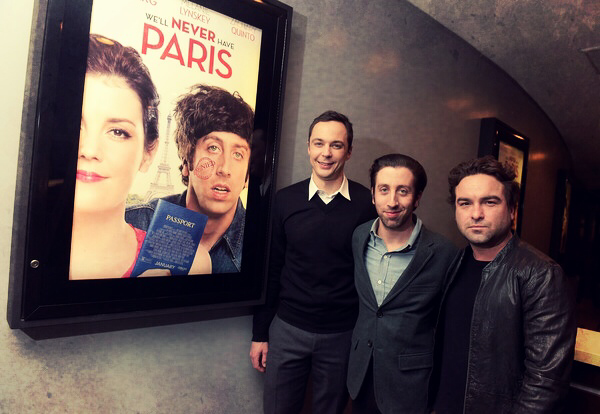 Last night at the premiere of @neverparismovie. In theaters Thursday and Friday on iTunes/OnDemand! #neverhaveparis http://t.co/zOwBxbSZ7g