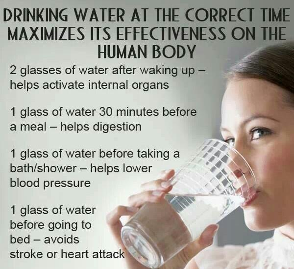 Drinking #water at correct times..  #Hydrate #health #tips via @HearFon http://t.co/G3qahF0nJD