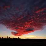 @NWSFlagstaff Sunset from Flagstaff this evening! http://t.co/q3ztSqdBAp