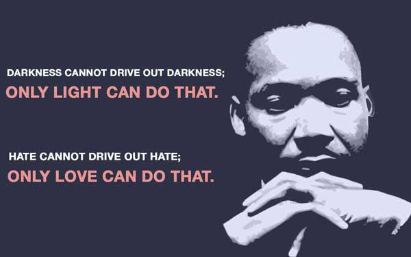 Thank you Dr. King for your wisdom and courage. Reflecting on #MLKDay. Goodnight. #love http://t.co/t4SqSQBpbY