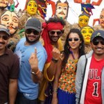 Kannada films' top choreographer @ImranSardhariya wraps up song for #Raate http://t.co/dqCk2At4NE