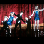 """RT @LaceyArens """"@JimGaffigan what a sweet surprise! Your kids opening for you!!!"""" West Coast tune in to LLS on @cbs http://t.co/OC0wwKeVvK"""