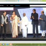 Legends @SrBachchan @SrideviBKapoor, kamal haasan, raja sir and Rajnikanth #Shamitabh