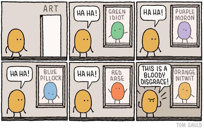 The psychology of Twitter outragers: Illustrated so well by this cartoon. http://t.co/1HWcL9tNF4