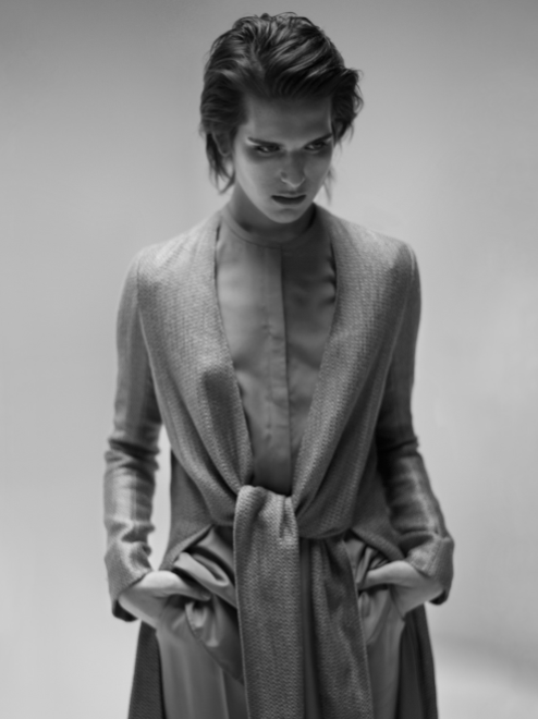 The Row Spring 2015 Vantin #Coat and Nova #Shirt, Featured on @styledotcom. Available at @BarneysNY. http://t.co/hp7xUXD4jX