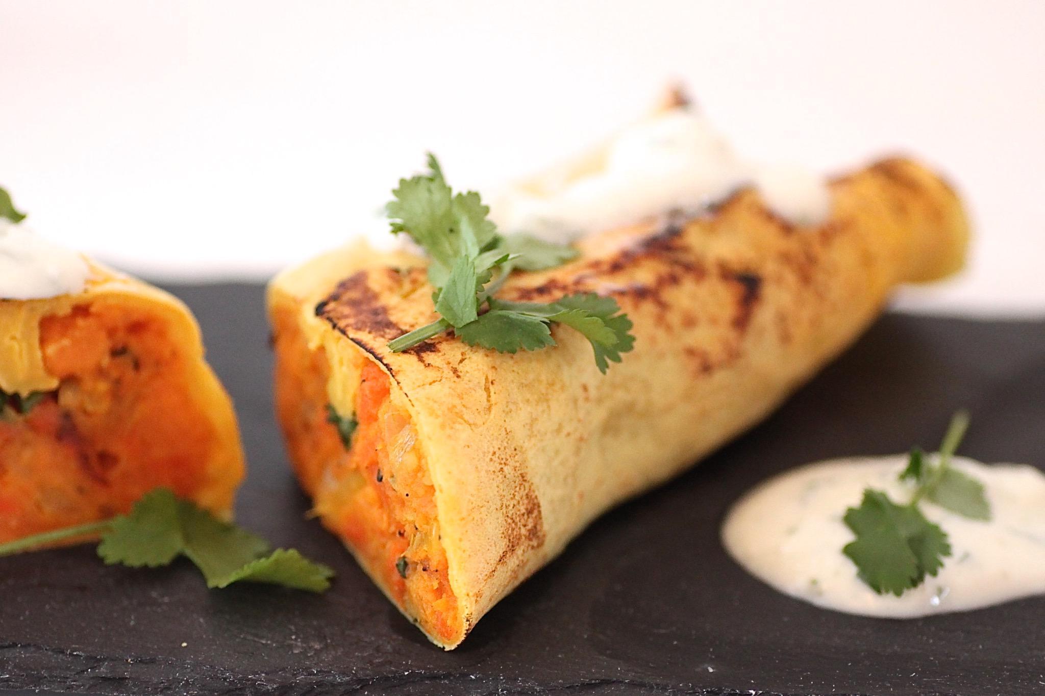 Lust auf indische #Pfannkuchen? Dann hab ich das perfekte #Rezept für euch! #kochen #recipeoftheday #recipes #food http://t.co/e9f0wFgeq2