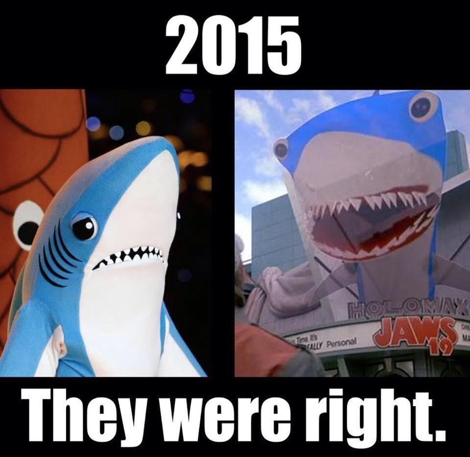 Back to the Future got it right! http://t.co/wwRRNsKZdU