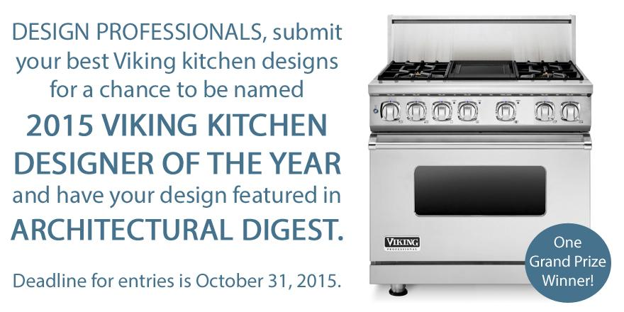 #DesignProfessionals: Enter the #VikingRange #KitchenDesign #Contest! http://t.co/034fpwCoRy http://t.co/0srvJv10Mz