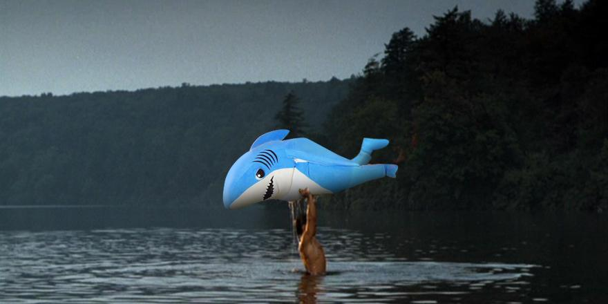 After countless auditions and callbacks, Left Shark has finally arrived. Nobody puts #LeftShark in a corner. http://t.co/v4901saa4Z