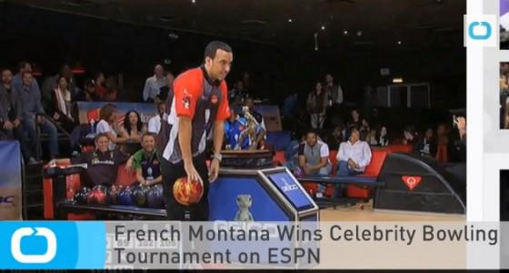 VIDEO: @FrencHMonTanA Wins Celebrity Bowling Tournament on ESPN  http://t.co/jSXE279uxY http://t.co/1dr9twFJN7