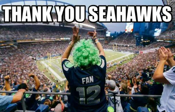 We love our city & we are STILL proud of our team for making it to the Super Bowl... Mahalo @Seahawks PC: @12thMan http://t.co/CqRlBALRHh