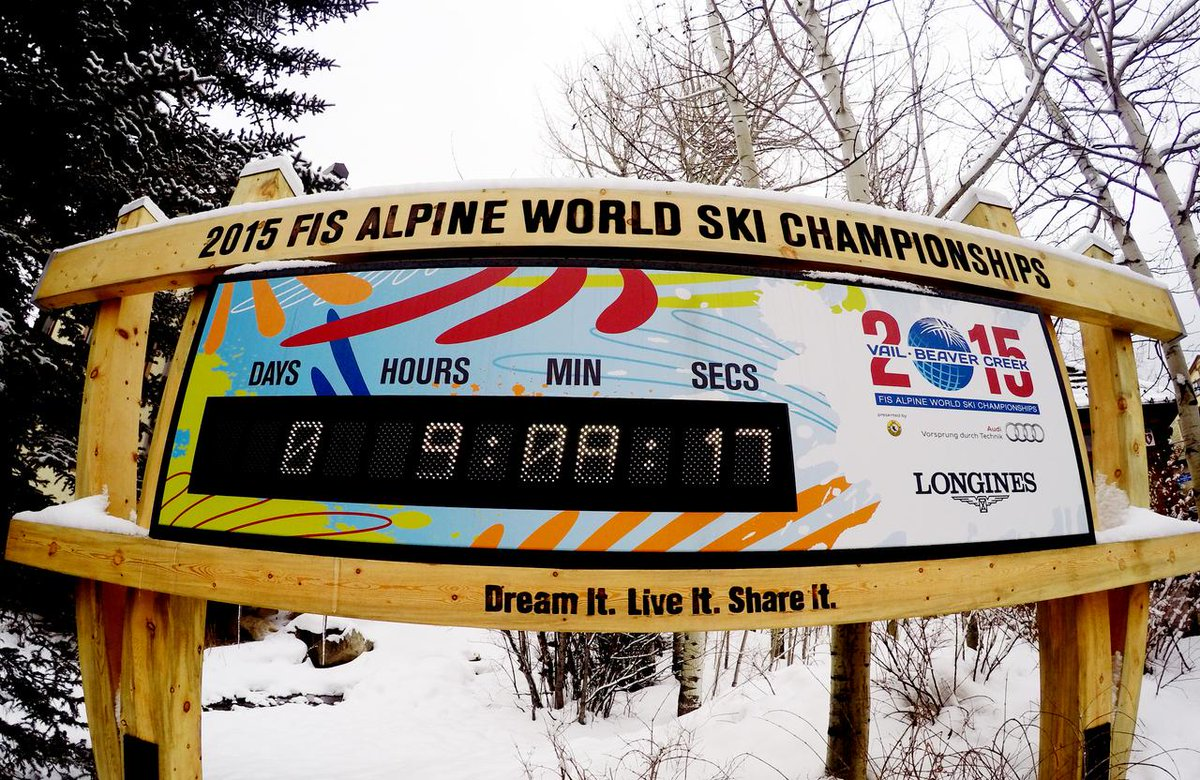 The 2015 World Ski Championships kick off tonight with the Opening Ceremonies in Vail Village at 7pm #Vail2015 @GoPro http://t.co/3Ao4fO2bsh