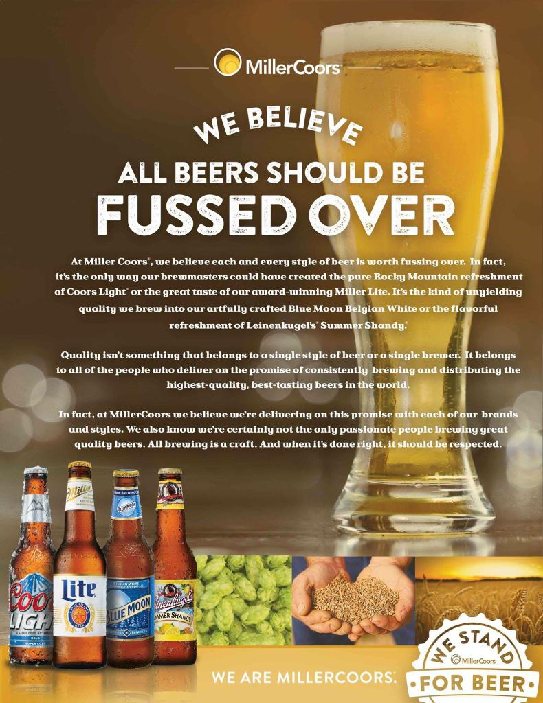 The country's 2nd largest brewer, @MillerCoors, has responded to the @Budweiser #SB49 ad w/ a post of its own. http://t.co/taumxlBY9W