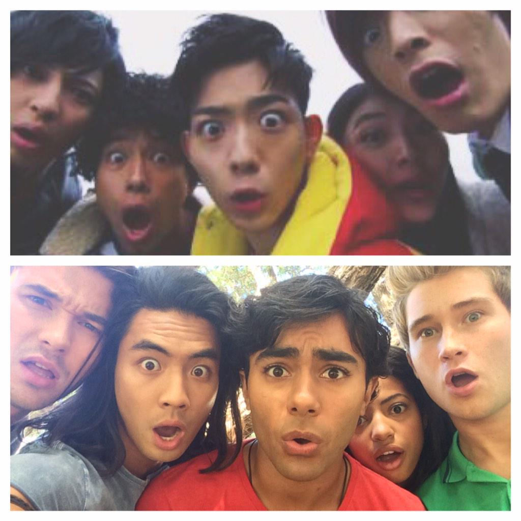 Kyoryuger and Dino Charge! Saw this picture online so I HAD to replicate it :) @yamatokinjo   http://t.co/s8rDCtq8QD http://t.co/D9EgL0Mbrh