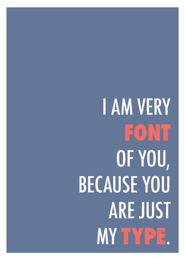 Loving these graphic #design puns http://t.co/BpFoQCB3cj #typography http://t.co/yciO77AnZk