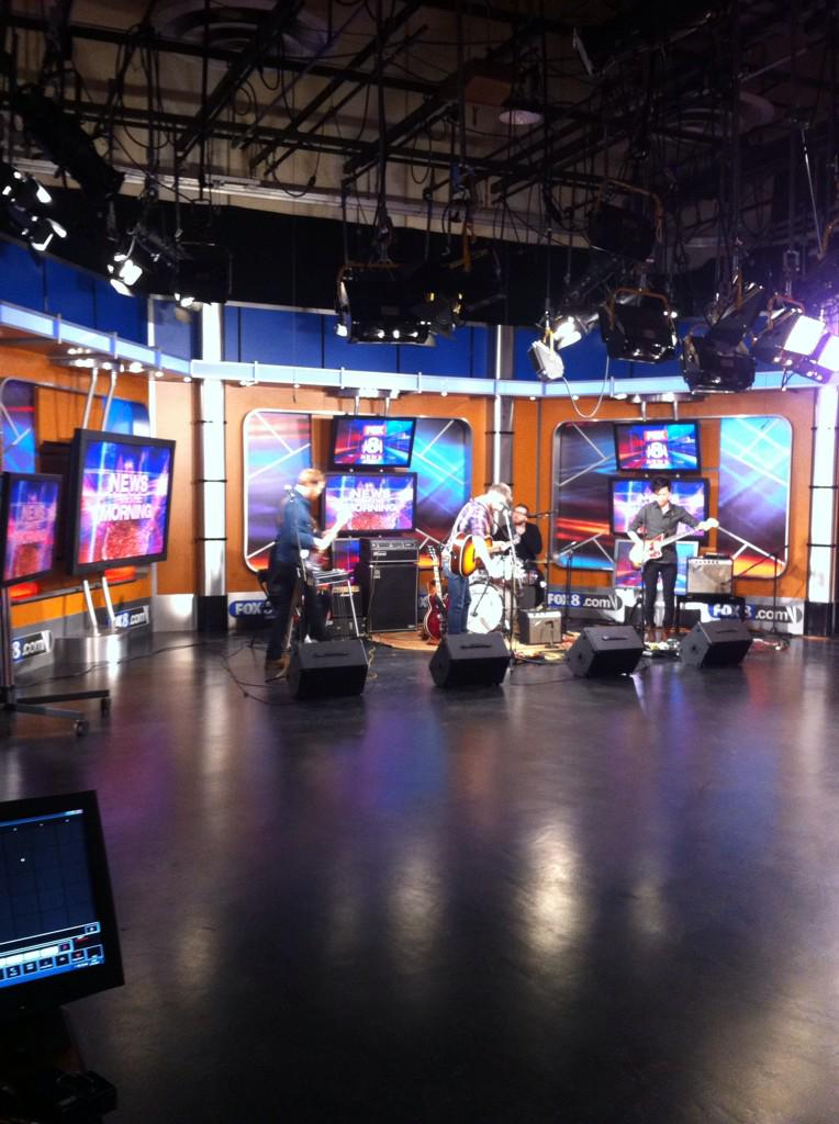 We're getting ready to serenade @fox8news and #Cleveland all morning on their #foxnews morning show. http://t.co/eUnGxuDXUP