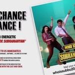 RT @VyjayanthiFilms: It's Your Chance To Dance ! #YevadeSubramanyam & send us your entries to whoissubbu2015@gmail.com