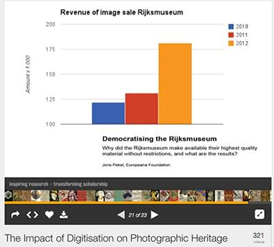 Rijksmuseum image sales once they made quality material available without restriction! (per @SimonTanner). http://t.co/w5eVAMrU62