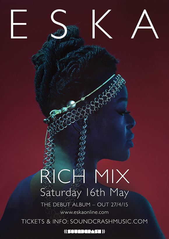 Saturday 16th May ESKA @ RichMix (London) Tickets for debut album launch are now on sale!  http://t.co/TZWzedb2lL http://t.co/3Vgr27uE9m