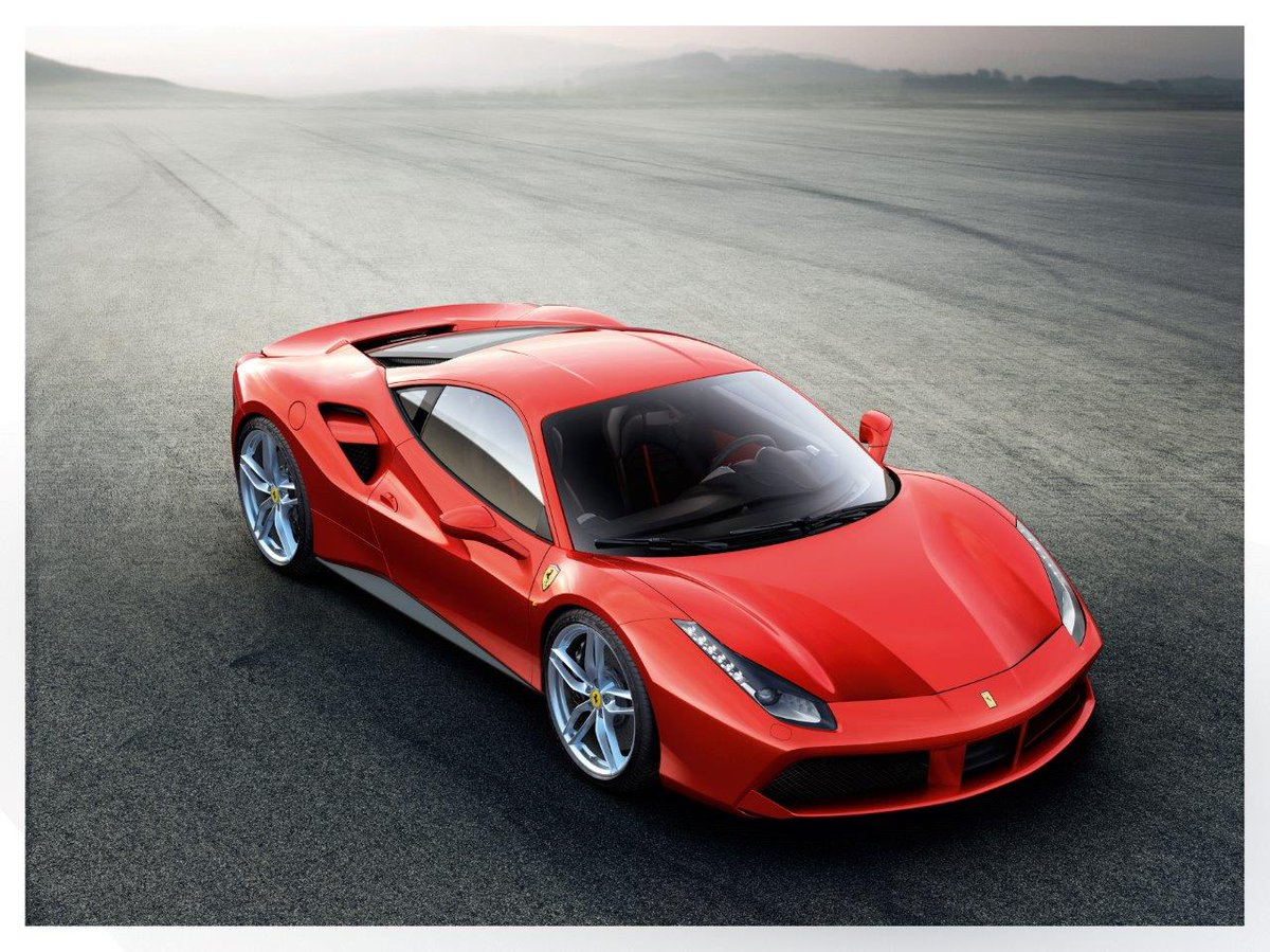 New Ferrari 488 GTB to be unveiled at Geneva. 670 CV from 3.9 twin turbo V8. http://t.co/w0DGbgdVMH