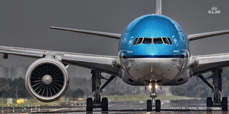 KLM volgens de consument de beste lijndienst luchtvaartmaatschappij.