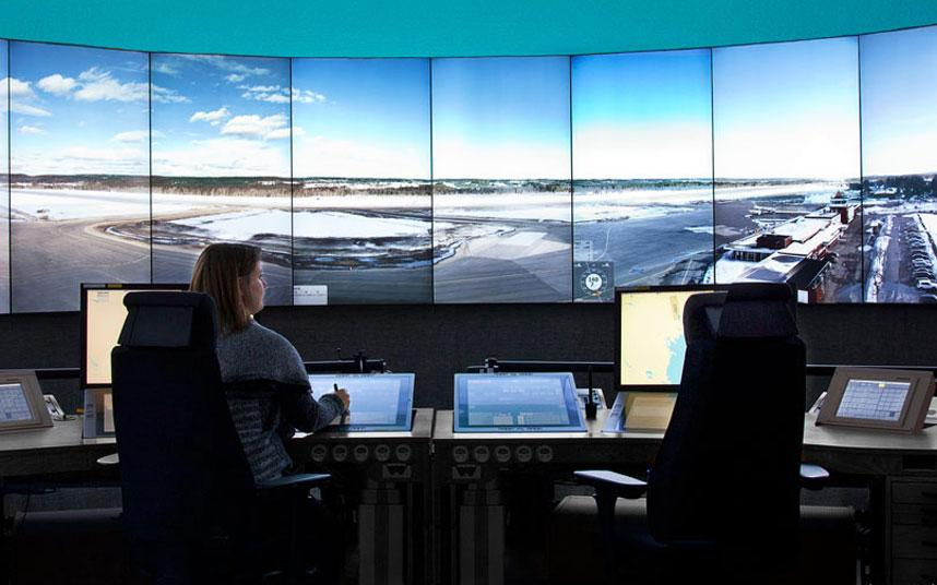 An airport in Sweden is landing planes remotely via TV screens