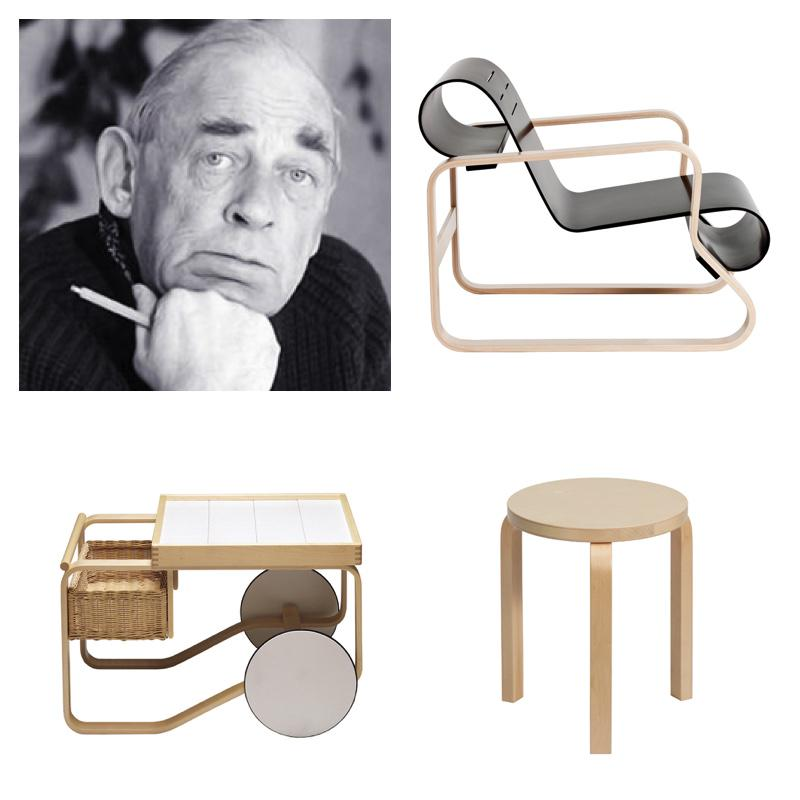 Happy birthday Alvar Aalto! The architect and designer, born February 3,1898, would have turned 117 years old today http://t.co/X2zGagFNYi