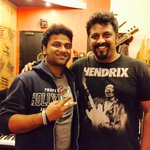 RT @Raghu_Dixit: Recorded a kickass song for the super-hit composer @ThisIsDSP for an Allu Arjun movie. Super fun guy to work with!