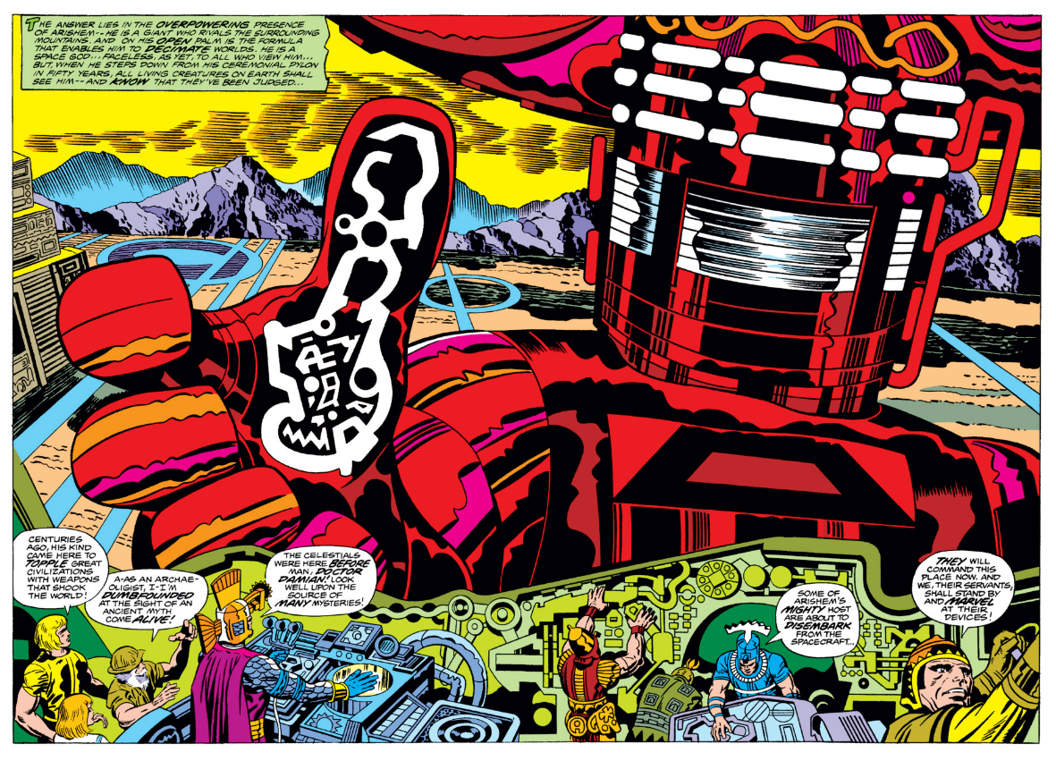 how many 20th Century creators in any art form can match Jack Kirby's creative depth? here's Kirby's 22nd best -- http://t.co/D87zPlKyvZ