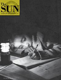 Doug Kuzmiak took this month's cover photo of a schoolgirl studying by battery-powered lamplight in Gilgit, Pakistan. http://t.co/wxYjJoOAOi