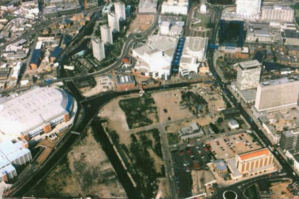 With Brindleyplace set for its 20th birthday, we look back to a time it didn't even exist http://t.co/JAm35GRZZ2 http://t.co/AI0FIUaEIj